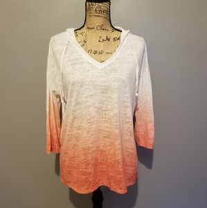 Sonoma Hooded Ombre Top
